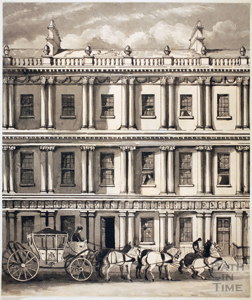 Gainsborough's House, The Circus, Bath c.1858