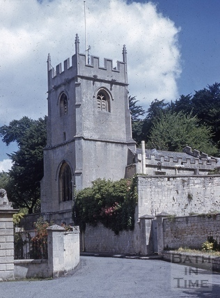 St. Thomas à Becket Church, Widcombe, Bath 1973?