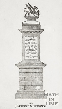 The Monument on Lansdown c.1820