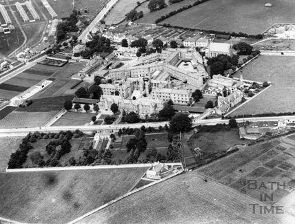 c.1950s Aerial view of St Martins Hospital