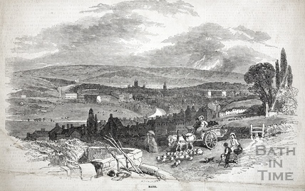 View of Bath 1850