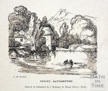 Ferry, Bathampton c.1840