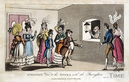 Evelinas Visit to the Opera with the Brangtons 1822