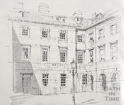St Johns Hospital and Chapel Court House 1927