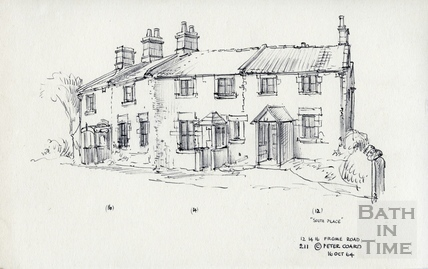 12, 14, 16 Frome Road, Odd Down, Bath (South Place) 16 Oct 1964