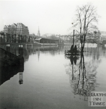 The Rec in flood Jan 1966