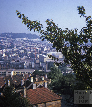 View from Beechen Cliff Sept 1971