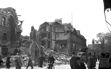 The Francis Hotel, Queen Square April 1942