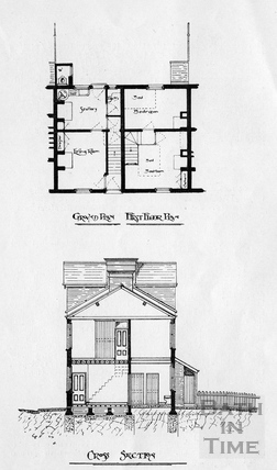 Plan of the New Workman's Dwellings, Dolemeads. 1901