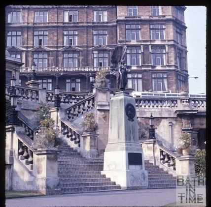 The Empire Hotel, viewed from Parade Gardens c.1975