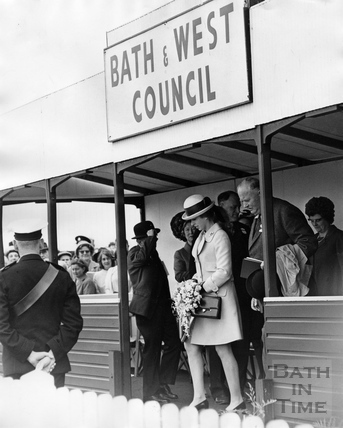 Princess Anne at the Bath & West show, 29th May 1969