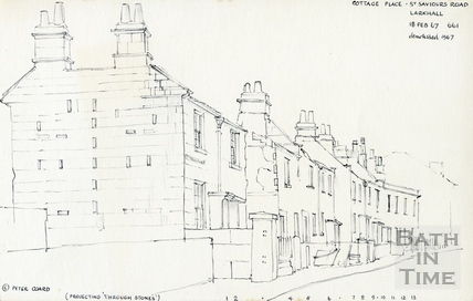 St Saviour's Road, Larkhall, Bath 18 Feb 1967