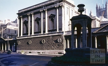 Pump Room, Bath, West end, December 1971