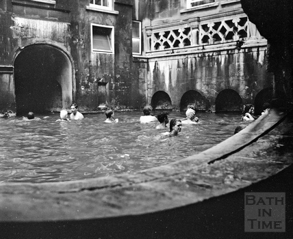 The Roman Rendezvous at the Kings Bath c.1960s