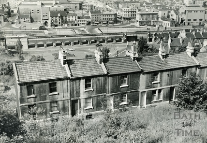 View over Calton Road, Holloway towards Broad Quay, June 16 1967