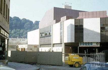 Southgate, Bath, North east towards Littlewoods 26 July 1973