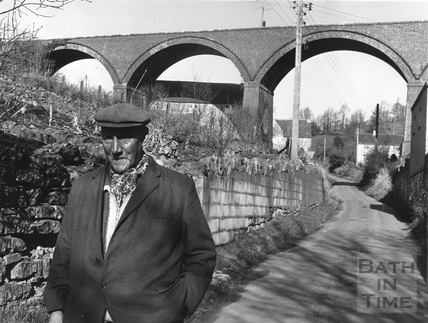 Albert Aust, Parish Councillor & Dunkerton Viaduct c.1968