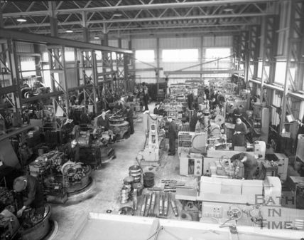 The machine shop at Stothert & Pitt. 20 Sept 1956