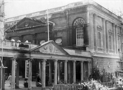 The Pump Room and colonnade 23 Sept 1974