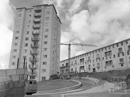 The Snow Hill Flats c.1957