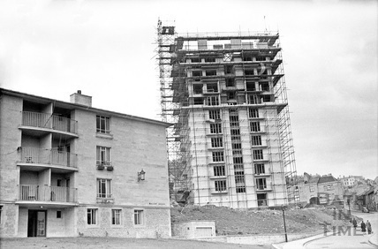 Berkley House, nearing completion c.1957