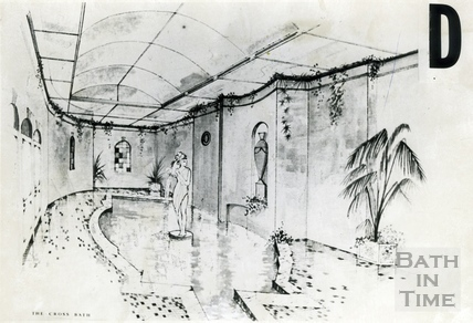 Artists impression of the proposed spa development , 5 July 1988