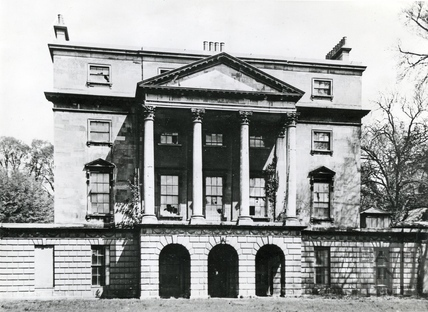 The vacant Sydney House, before the Holburne Museum took it over. Pre 1911