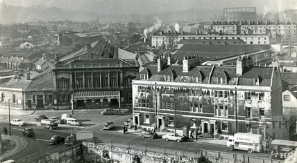 View of Green Park Station, c.1950s