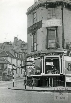 Wallace, the Cycleries, Lansdown Road 1963