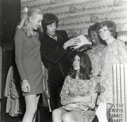 Cat Stevens, during a party at Funny Girl Boutique, c.1960s