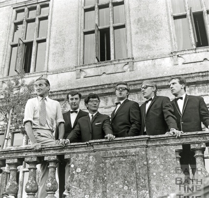 Freddie and the Dreamers at Longleat, August 1965