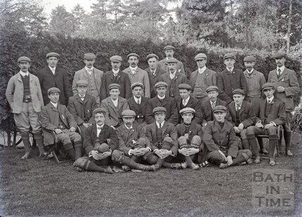 Bath Cycling Club group photograph c.1910s