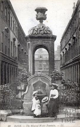 The Mineral Fountain, Stall Street 1905