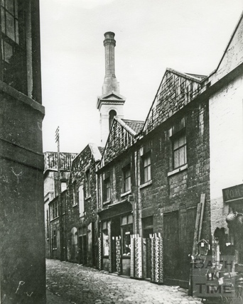 An early view up Swallow street c.1920s?