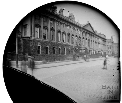North side of Queen Square, Bath c.1883
