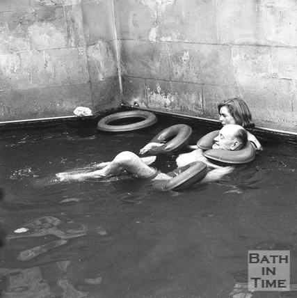 Treatment at the Hot Baths 7 Sept 1970