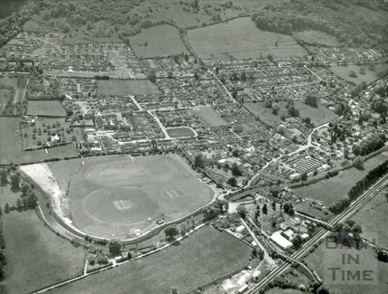 1973 Aerial view of Bathampton August