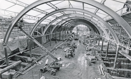 The complete renovation of Green Park station, 26 Oct 1981