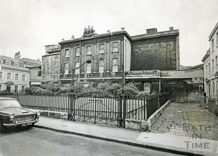 The Theatre Royal, viewed from Beauford Square, May 17 1968