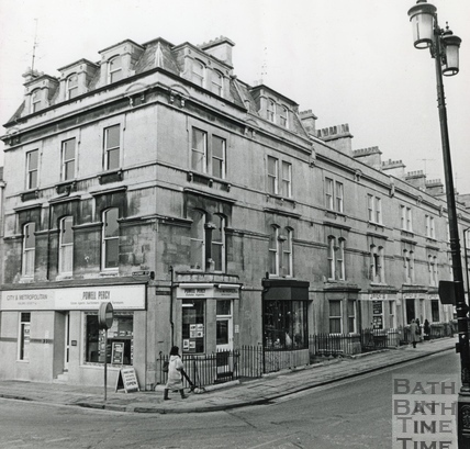 The corner of Manvers Street and Railway Street, 18 March 1989