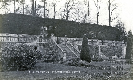 St Catherine's Court, the south west terrace c.1905