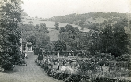St Catherine's Court and garden from the south west c.1940s