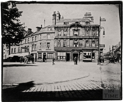 Kingsmead Square, Kingsmead Street and Rosewell House c.1900