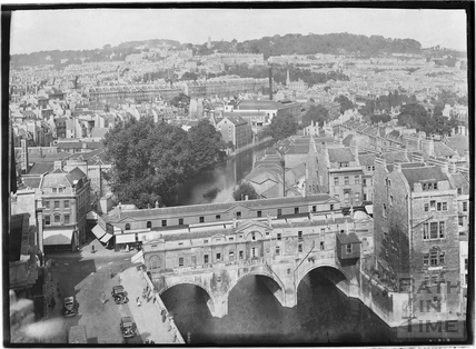 View from the Empire Hotel of Pulteney Bridge