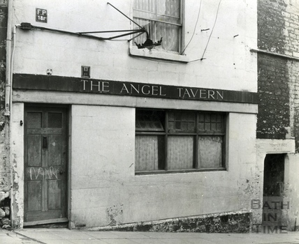 The Angel Tavern Temperance Place, Holloway c.1960