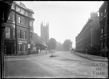 The corner of Sydney Place and Darlington Street c.1930s