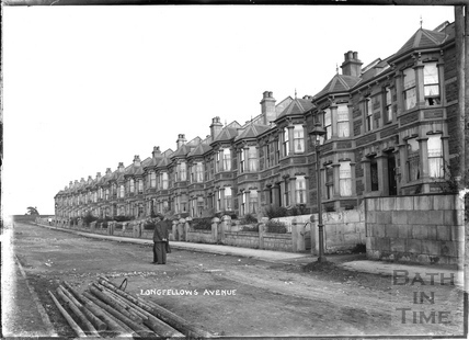 Longfellows Avenue looking up c.1908