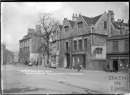Hetling House, also known as Abbey Church House, c.1940s
