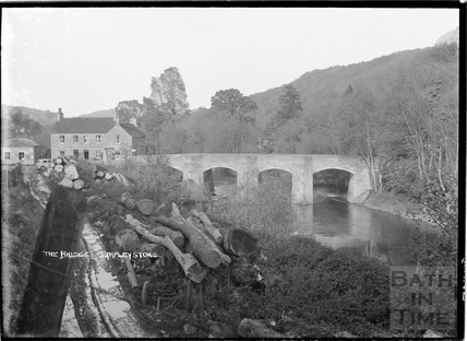The Bridge over the river, Limpley Stoke c.1930s