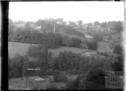 View of the Midford Valley towards Combe Down, c.1930s